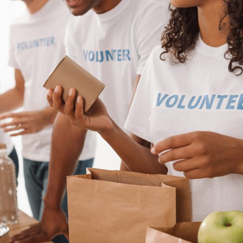 "Are you tired of working at a ""dead end"" job? Volunteering might lead to the way out."
